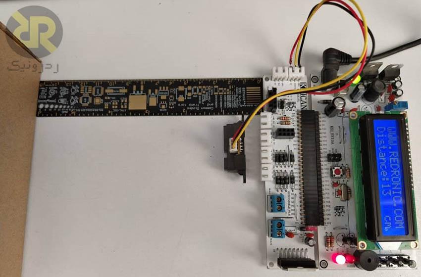 اتصال-GP2D12-به-برد-ROBO-SHIELD