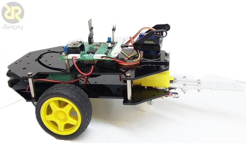راهنما راه اندازی ربات کنترلی با وای فای با میکرو آرم سری ST