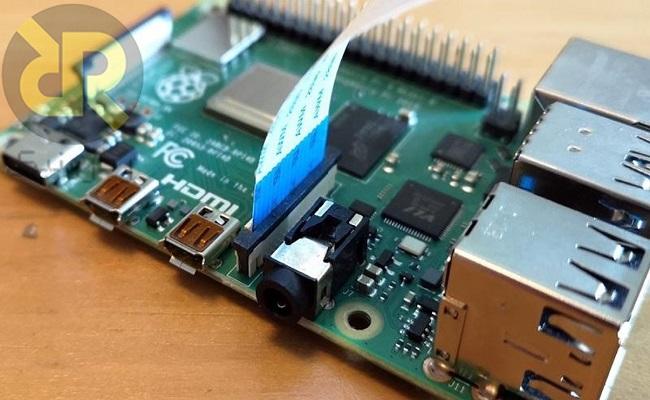 اتصال دوربین Raspberry Pi