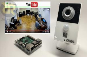 دوربین مداربسته با Raspberry Pi