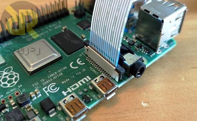 نصب دوربین Raspberry Pi