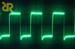 سیگنال PWM در اسیلوسکوپ