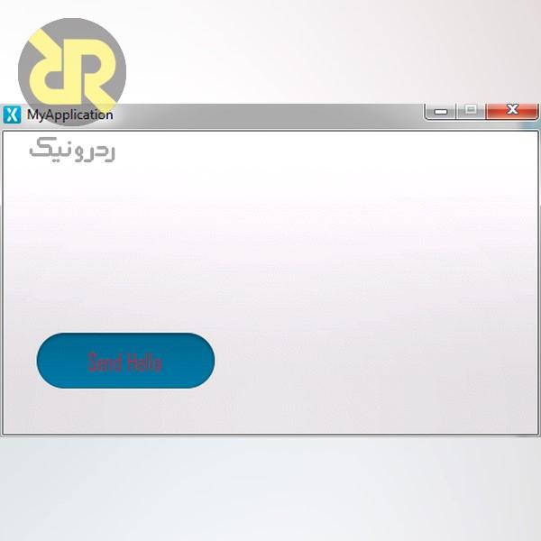 اجرای UI در محیط Simulator