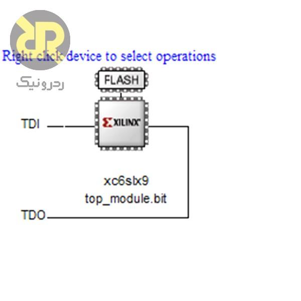 شکل 27- نحوه پروگرم کردن FPGA بخش سوم