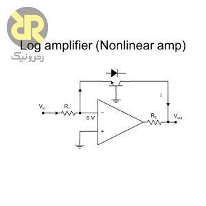 تقویتکننده لگارتیمی آپ امپ/ ترانزیستور