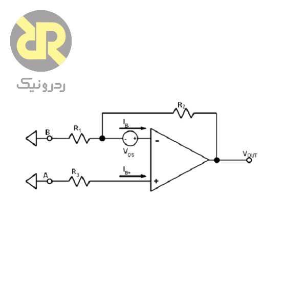 محاسبههای کل ولتاژ آفست خروجی آپامپ