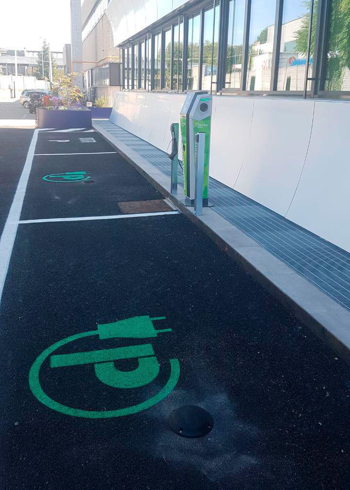 نقاط شارژمجدد پارکینگ هوشمند خارجی