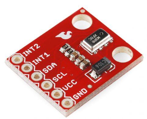 راهنمای اتصال سنسور فشار  MPL3115A2